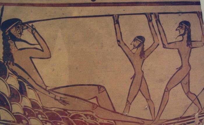 Ulisse e il popolo con un occhiosolo